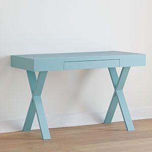Furniture - Light Blue Josephine Desk | World Market