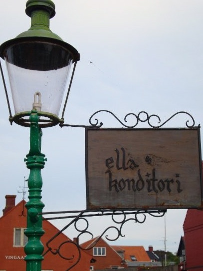 Ella's Konditori in Allinge on the island of Bornholm, Denmark