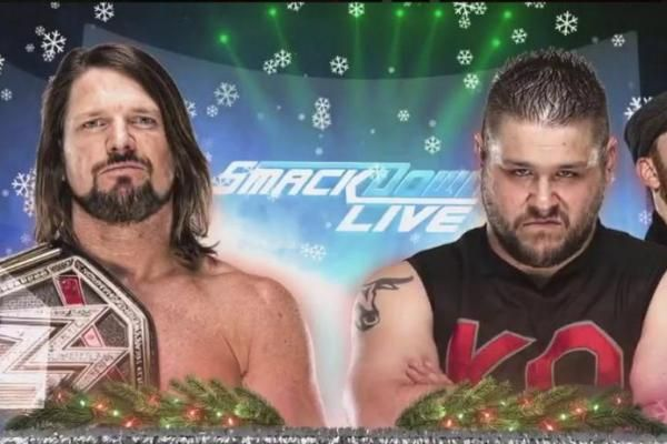 The final Smackdown of 2017 featured WWE Champion AJ Styles taking on Kevin Owens and the start of a United States Championship tournament.