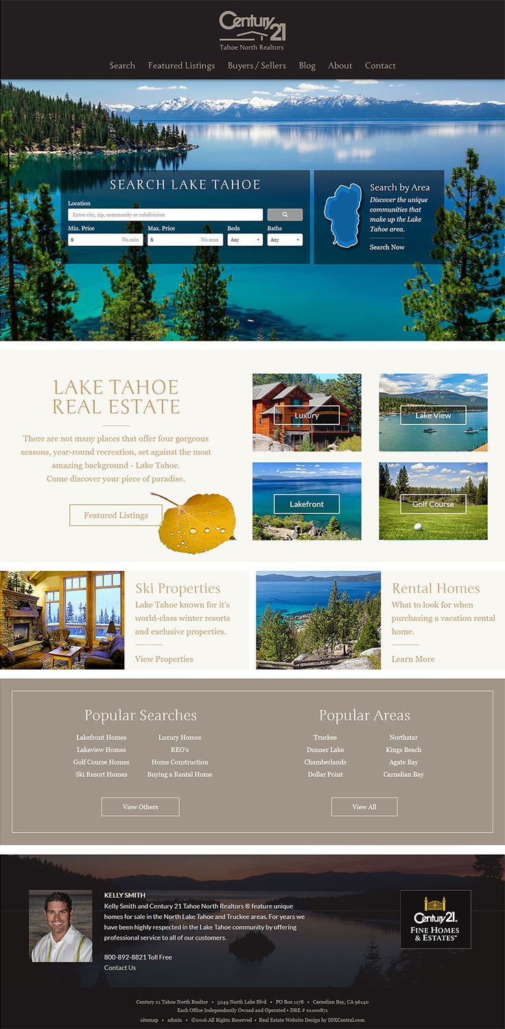 Real Estate Template%0A Custom Responsive Real Estate Website Design  This custom designed Century     website welcomes visitors with