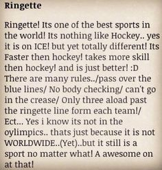 This is so true! Suck that hockey boys!!!