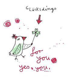 #glücksdings  karindrawings