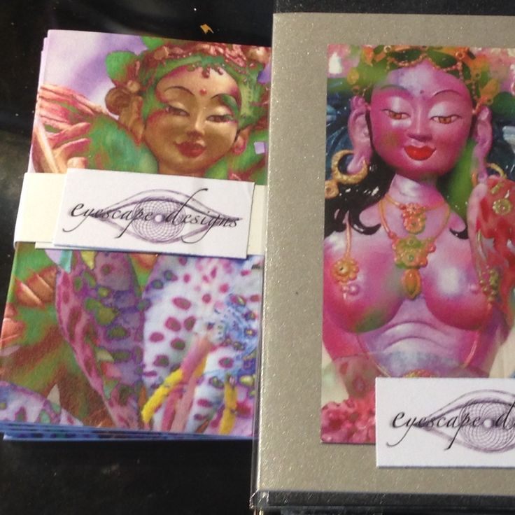 Beautiful Buddhist inspired blank gift cards and tags now available in Eyescape Designs! Some have magnetic fronts, for a gift that keeps giving!!!