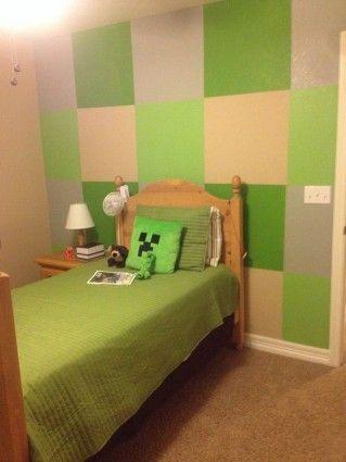 Boys Minecraft Bedroom Kids Bedroom Ideas Pinterest