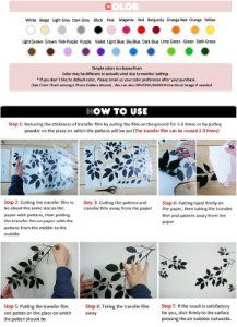 Newsee Decals Six différentes couleurs Cartoon voiture pour chambre enfant Deco Decor Sticker mural Stickers muraux: Cet article Newsee…