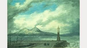 Resultado de imagen para Vesuvius and Somma from the Mole at Naples