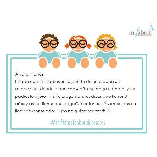 ¡Frase genial para un lunes más animado! www.mifabula.com