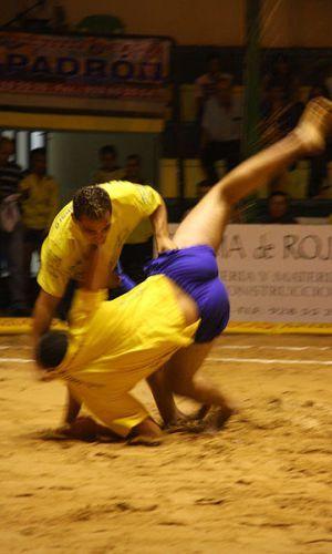Lucha Canaria. Las primeras referencias de este deporte se remontan al 1420.