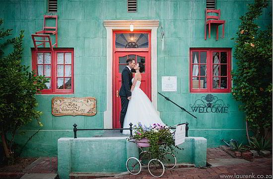 Wedding at a vineyard in Cape Town
