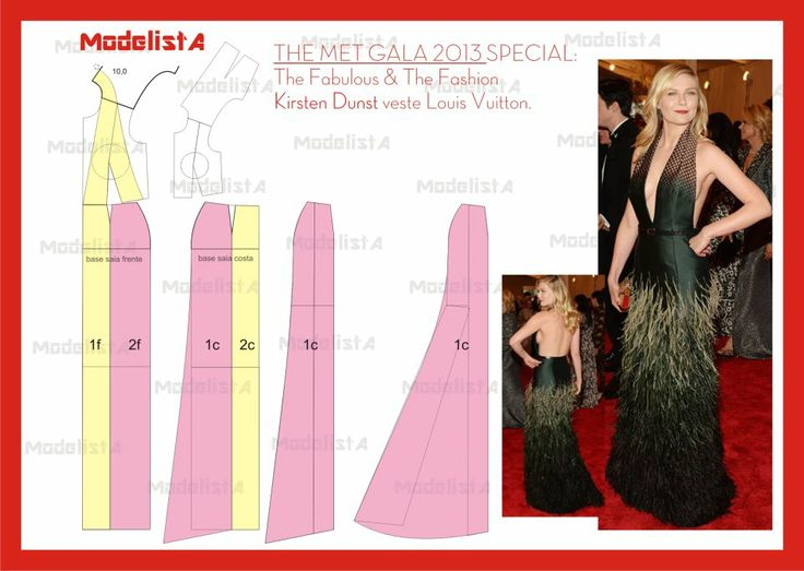 vestido de Louis Vuitton. The met gala 2013. Fonte: http://www.facebook.com/photo.php?fbid=519519244750652=a.426468314055746.87238.422942631074981=1
