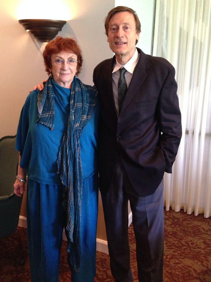 Barbara Frey & FRAMCO President Jean-Charles Faust at the Sister Cities Perpignan luncheon at the SaraBay Country Club November 4, 2013