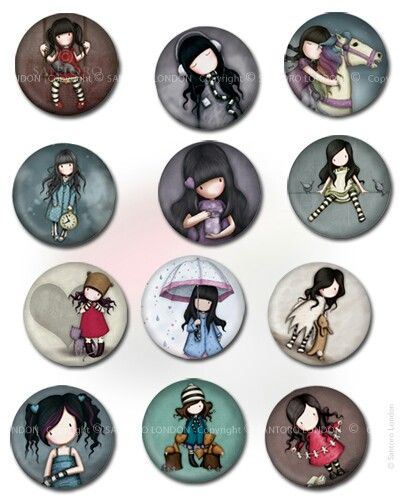 Gorjuss I've got that badges !! :) Love them