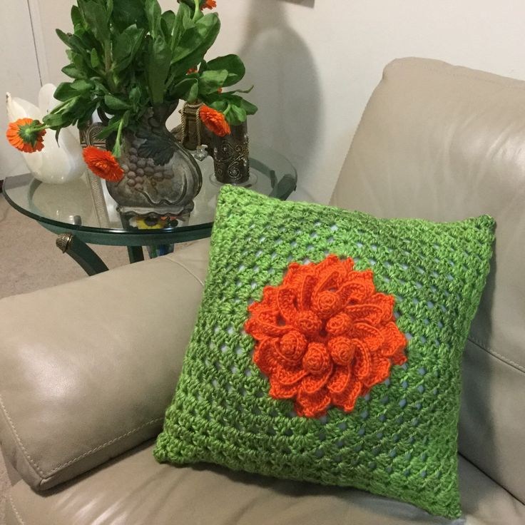 Working on a new crochet cushion!  Happy autumn/ fall everyone.