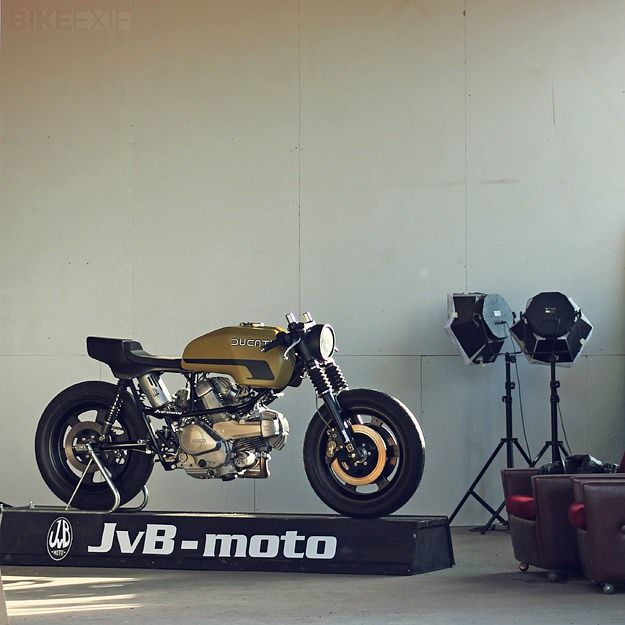 This Ducati Pantah belongs to JvB-moto's Jens vom Brauck, and prowls the roads around Cologne in Germany