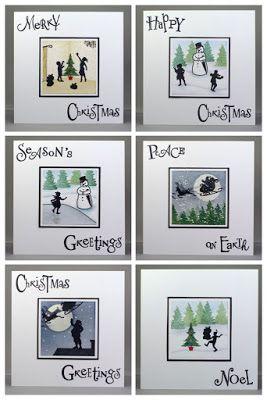 Lynne's Crafty Little Blog: My Wee Folk Christmas Cards - July's Claritystamp ...