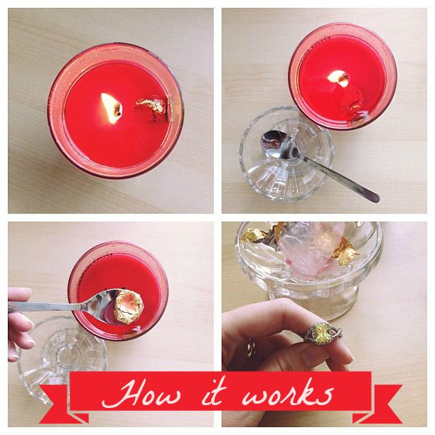Diamond Candles - A hidden ring valued $10-$5,000 in every soy candle! What fun for home decorations.