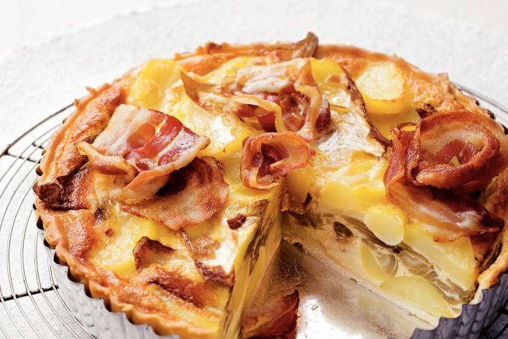 Witlof-aardappeltaart - Recept - Allerhande
