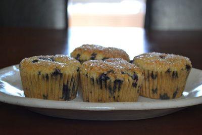 Almond-Blueberry Muffins