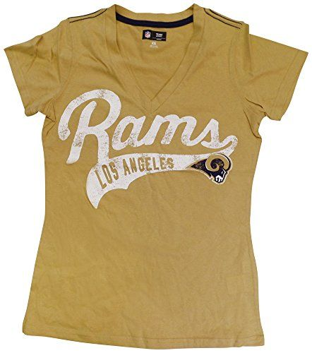 "Los Angeles Rams Womens ""Away Game"" V-Neck T-Shirt  https://allstarsportsfan.com/product/los-angeles-rams-womens-away-game-v-neck-t-shirt/  Women's Sizes Screen Print Graphics 60% Cotton / 40% Polyester"