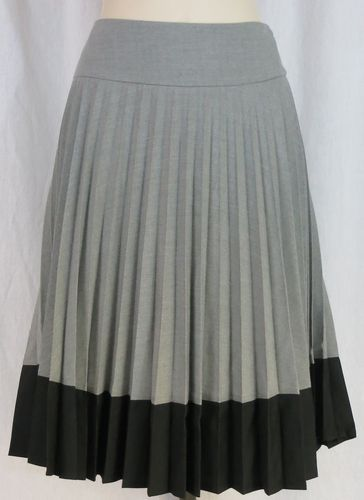 quot h m quot gray pleated skirt dress up