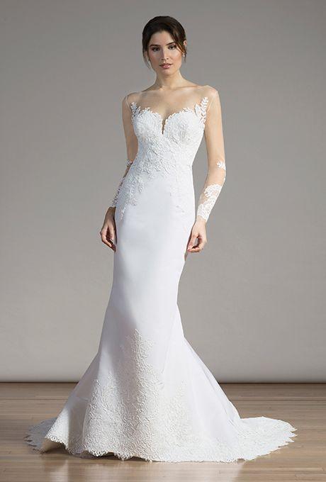 Brides.com: . Wedding dress by Liancarlo
