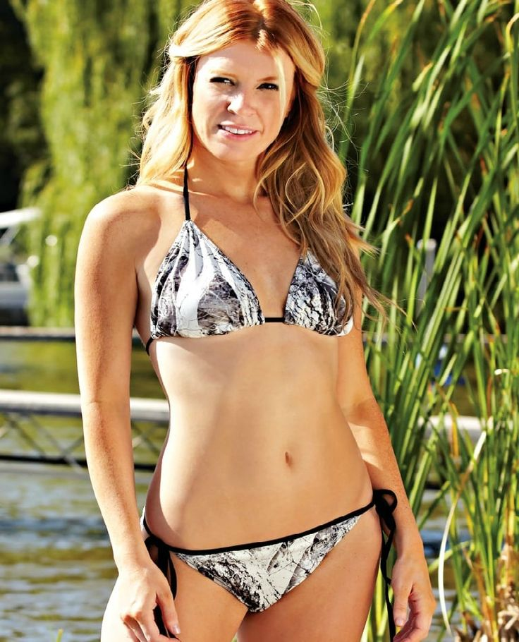 Soak up the sun this summer in the Naked North® String Bikini Set. This set combines fun camo with a classic fit you love. #swim #swimwear #swimsuit #summer #camo #camouflage