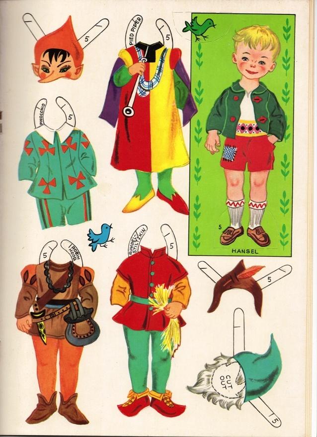 Sharon's Sunlit Memories: Paper Dolls, Princess Marigold & Ladybird