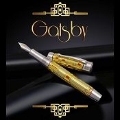 Conway Stewart Gatsby Enamel and Sterling Silver Pens