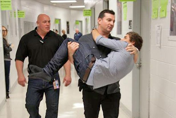 The One Direction boys are officially getting carried away.