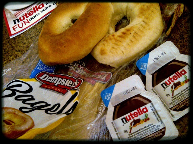 Carol came up with a super delish idea for her Dempster's Bagel!