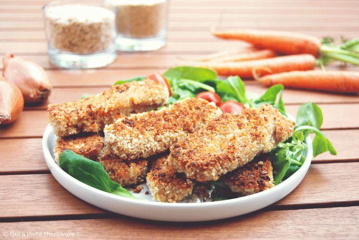 Bâtonnets vegan – avoine / quinoa / carotte