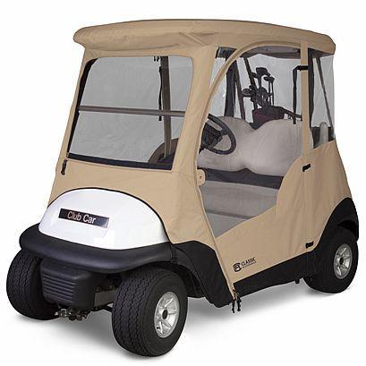 Club Car® Precedent Enclosure with zip-off windshield