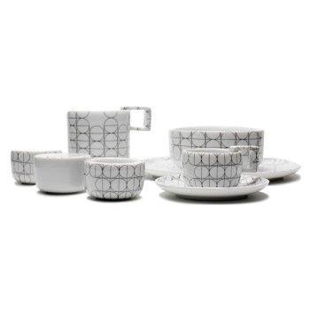 SCANDINAVIAN SET - Mopsdesign  Porcelain, breakfest SCANDINAVIAN SET