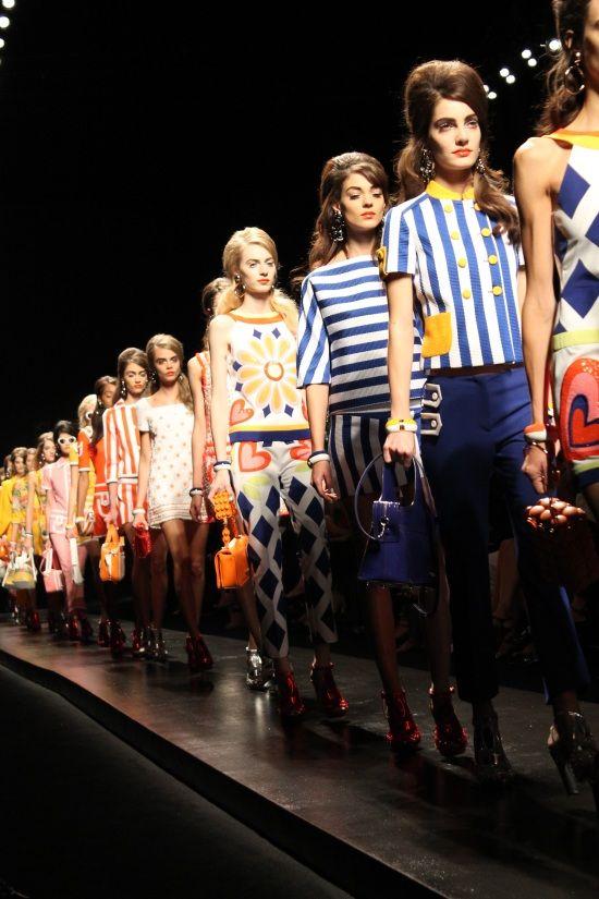 Moschino fashion show s/s 2013
