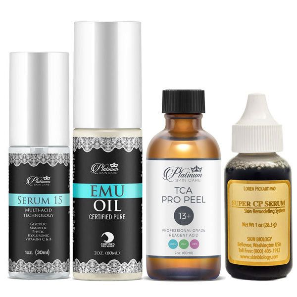 Scar treatment, scar kit, minimize scars, remove scars, professional kit, hydroxy acids, copper peptides, Keratoses, Skin tags, some moles, Stretch marks, Skin blemishes, acne scars, Surgical scars, skin remodeling,