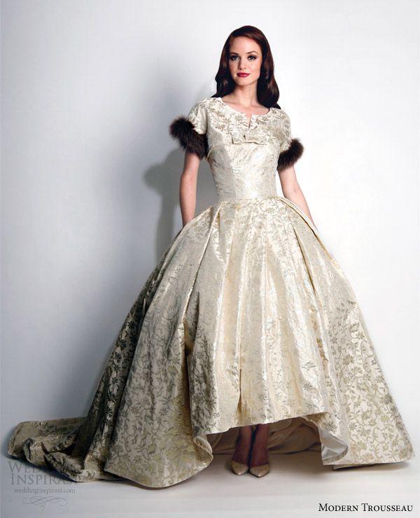 Modern Trousseau Fall 2015 Wedding Dresses | Wedding Inspirasi