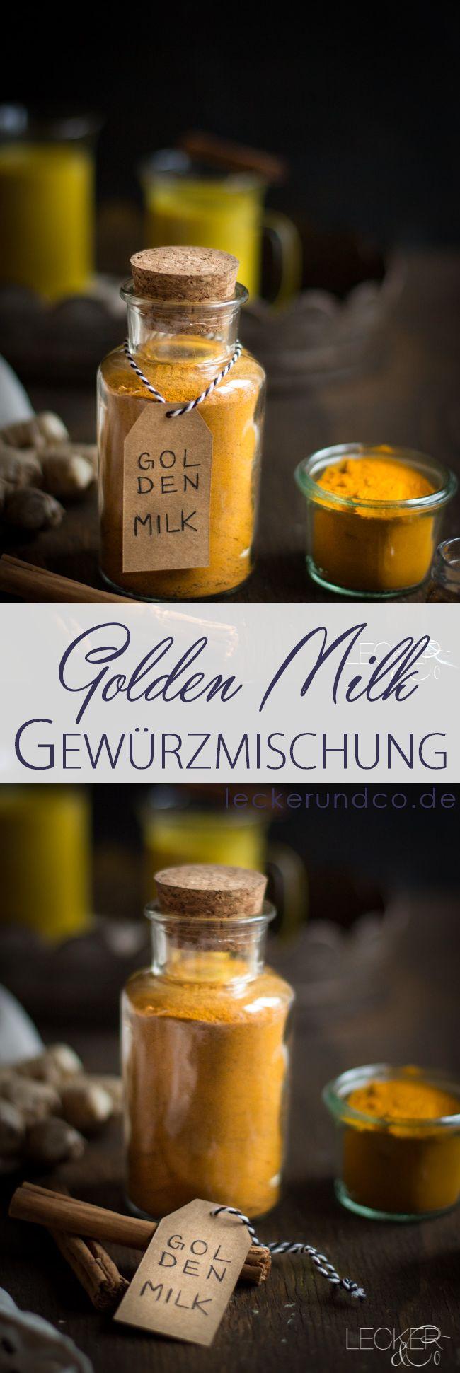 Gewürzmischung für Golden Milk | Spices for Tumeric Latte