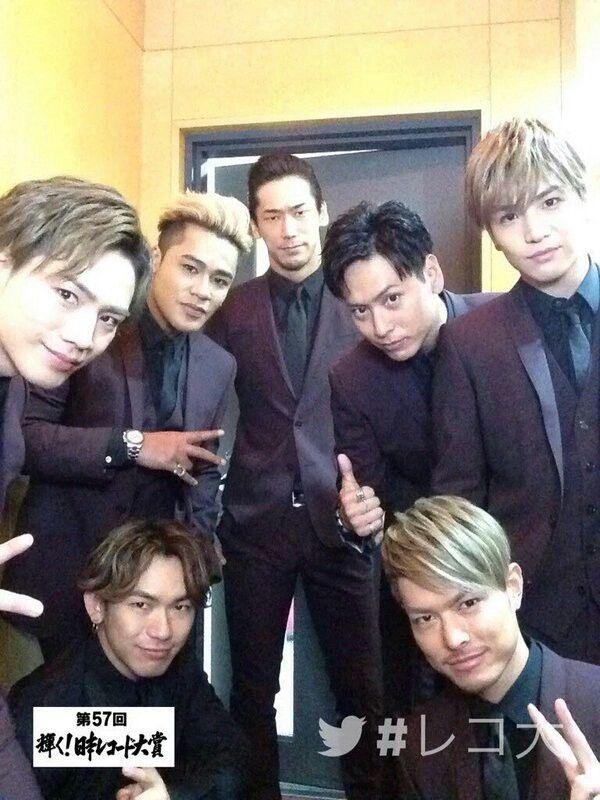 Imaichi Ryuji & Tosaka Hiroomi & Iwata Takanori & Yamashita Kenjiro & Elly & Naoto & Naoki #SandaimeJSoulBrothers