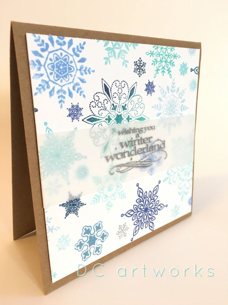A personal favorite from my Etsy shop https://www.etsy.com/listing/256142769/christmas-card-handmade-card-with