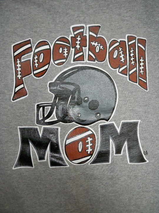 Football Mom Tee Southern Chics