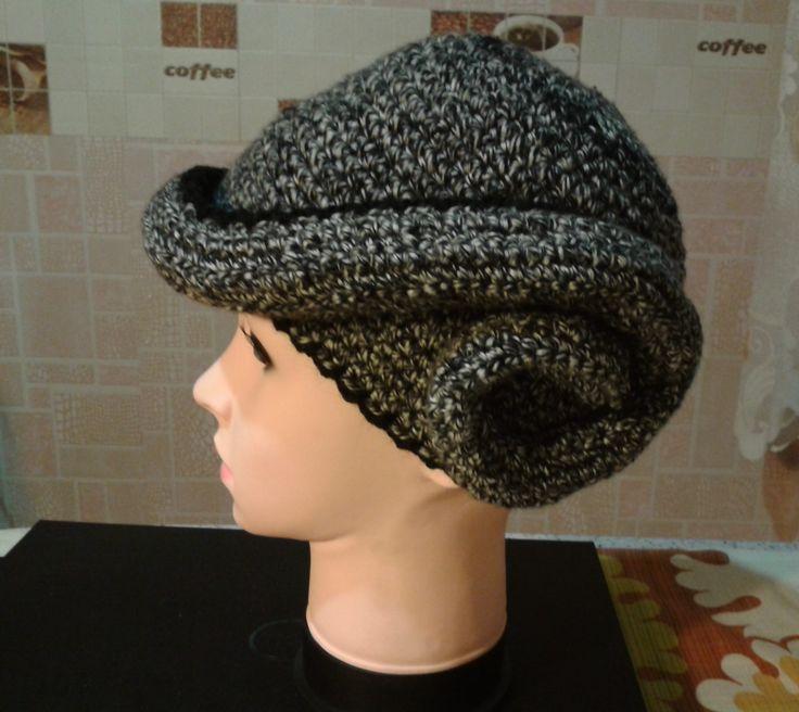 a stylish cap variant