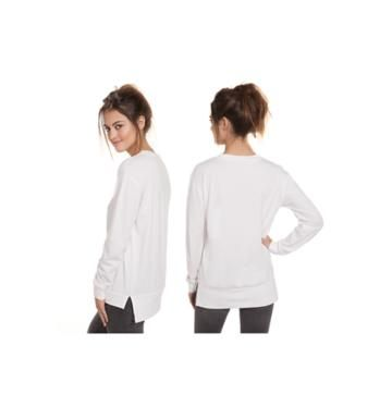 4M218 Spooky Long Sleeve Banded for Women - Qtee.com