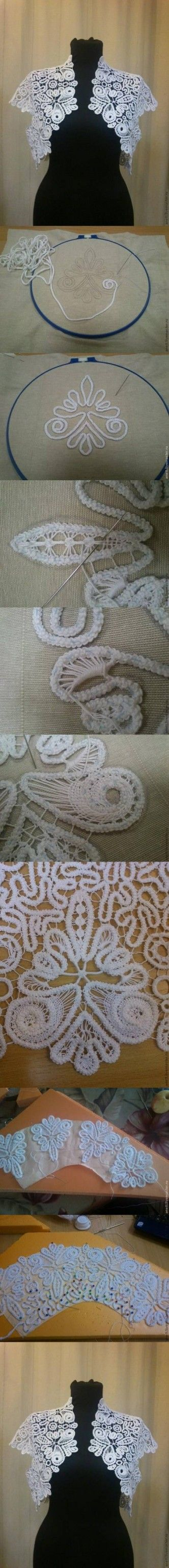 336 best artcraft yarn string images on pinterest hand crafts crochet lacework tutorial diy romanian lace projects solutioingenieria Images