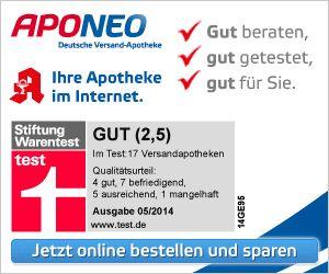 Arzneimittel und Gesundheitsprodukte bei APONEO bestellen und sparen