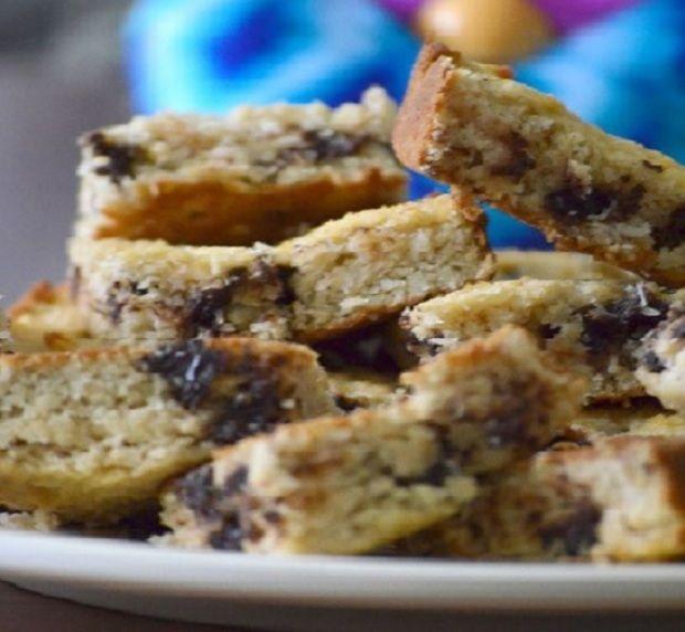 Isteni csokis-kókuszos keksz diétásan