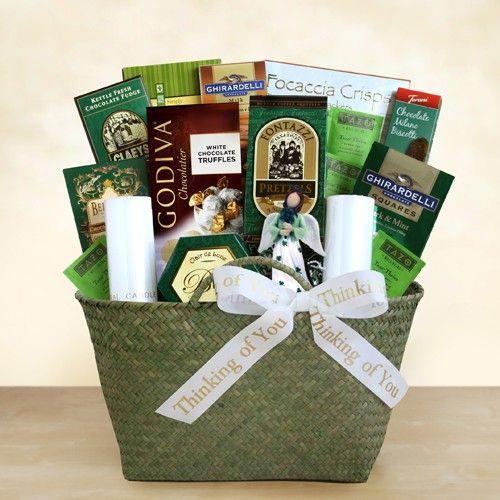Irish Wake Sympathy Gift Basket - http://giftbasketblessings.com/product/irish-wake-sympathy-gift-basket/