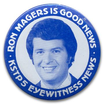 Ron Magers Button, 1970s