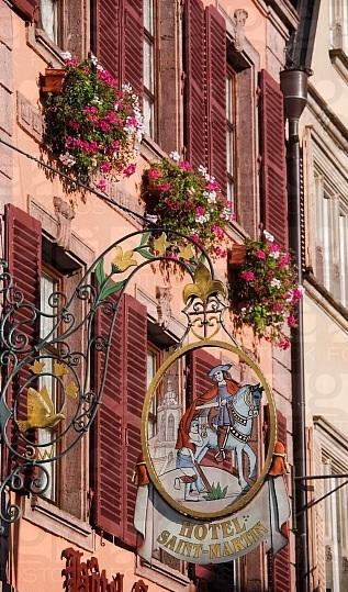 *Enseigne, Colmar, France*