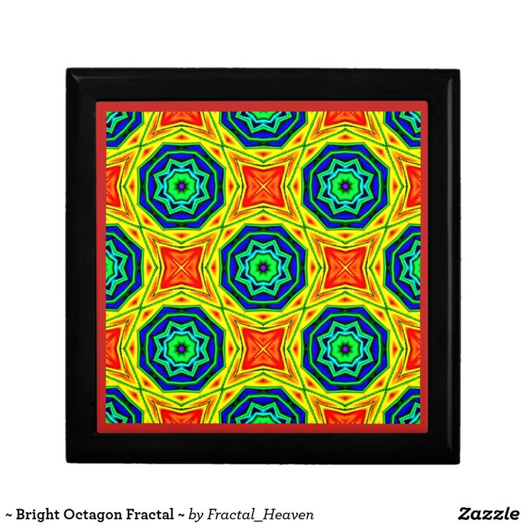~ Bright Octagon Fractal ~
