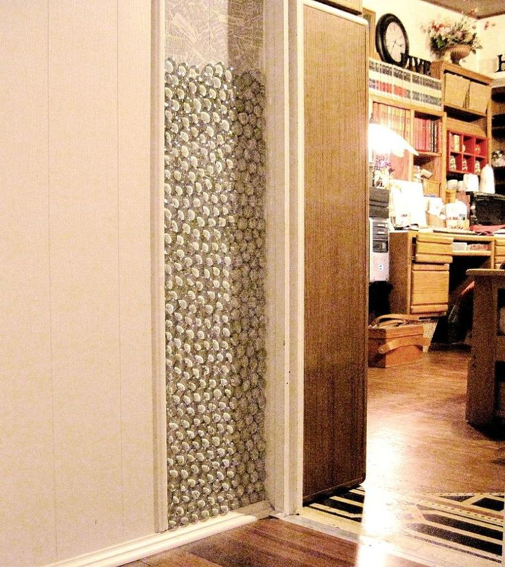 Using glass pebbles as wall decor clipboards decoupage for Interior decoration using pebbles